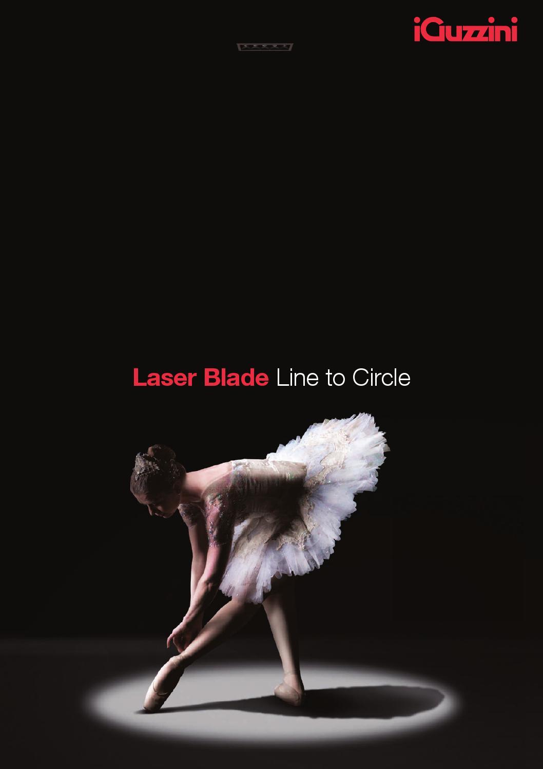 laser blade line to circle iguzzini 2015 en by. Black Bedroom Furniture Sets. Home Design Ideas