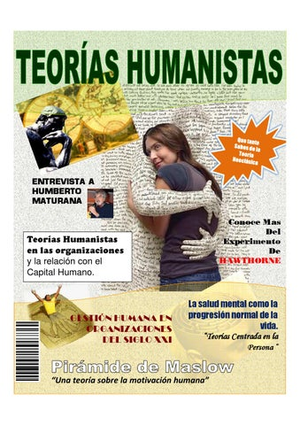 Revista Teorías Humanistas Gcia Capital Humano By Josnel