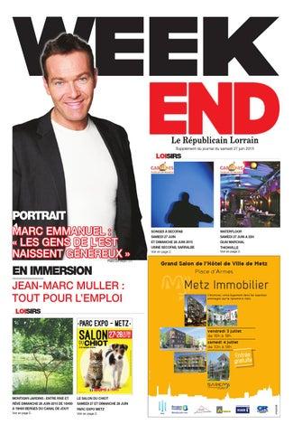 Week End Du 27 Juin 2015 By Republicain Lorrain Issuu