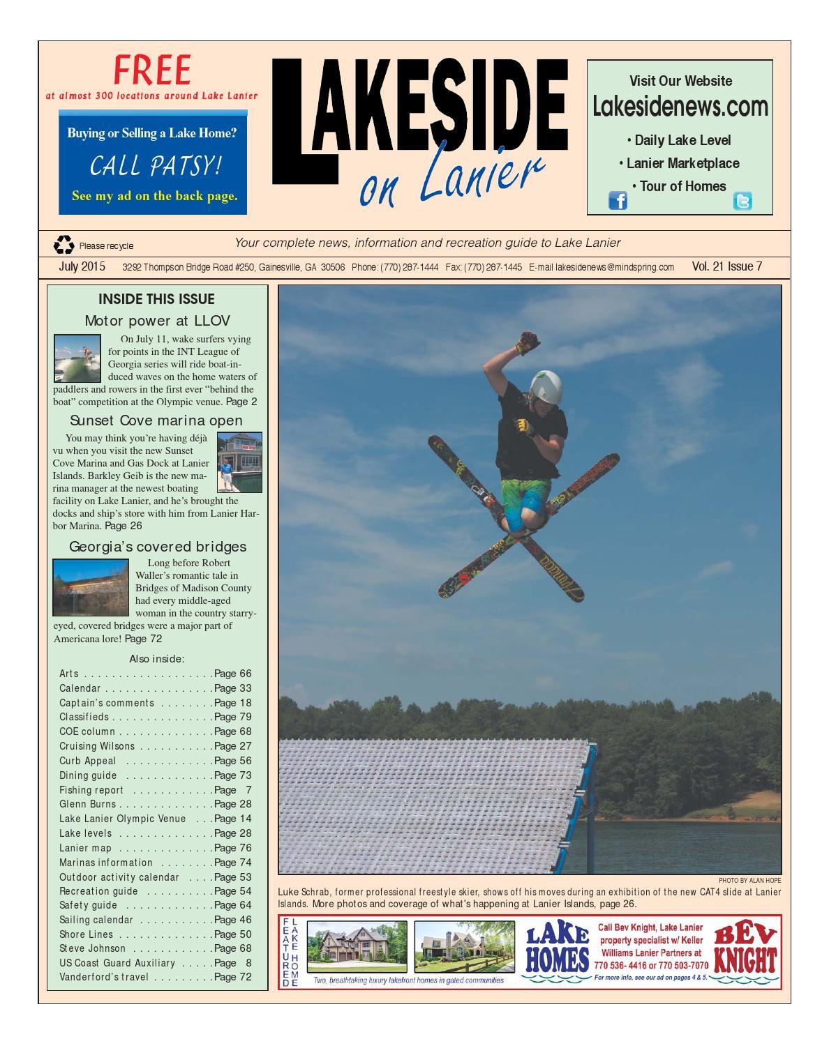 Lakesideonlanierjuly2015 by Lanier Publishing Inc. - issuu