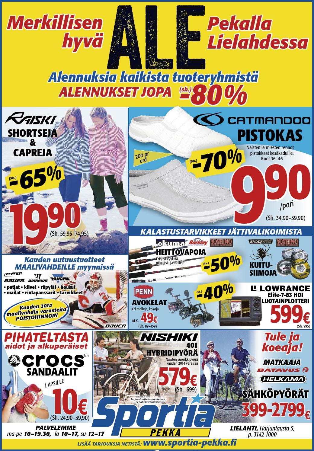 Spekka 2706 v3 by Sportia-Pekka Sportia-Pekka - Issuu
