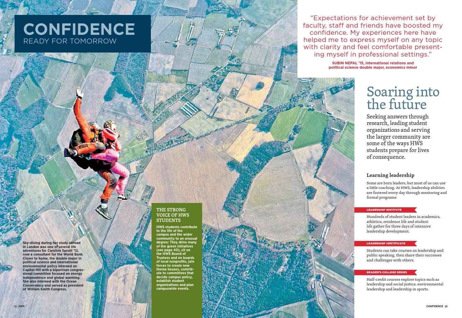 Hws Viewbook 2015 By Hobart And William Smith Colleges Issuu