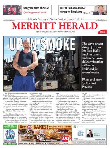 49f01eb5a40 Merritt Herald - June 25, 2015 by Merritt Herald - issuu