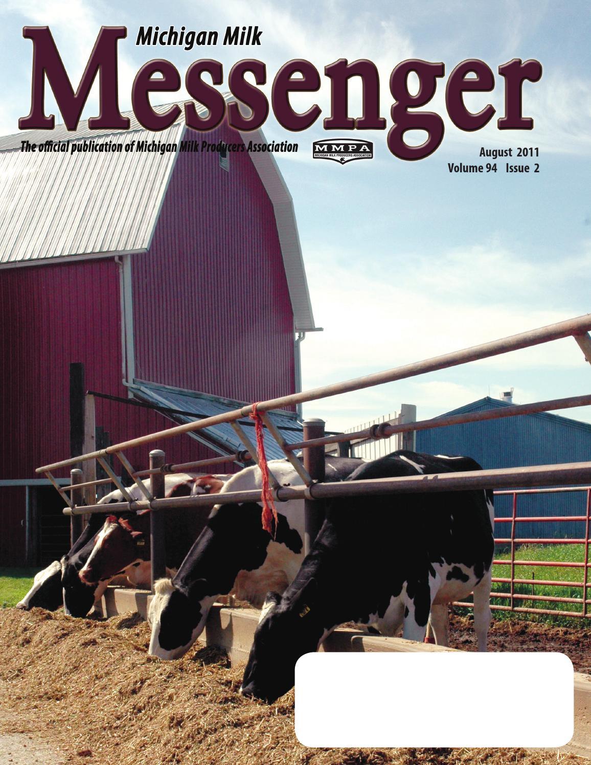 Michigan Milk Messenger: August 2011