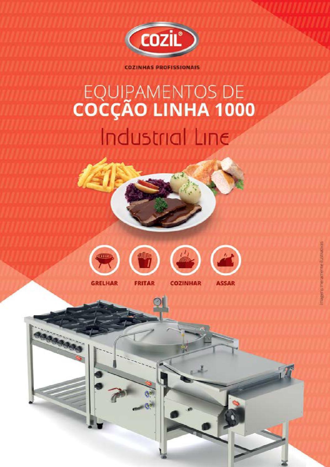 Cozil Cat Logo Industrial Line Linha De Coc O 1000 By Cozil