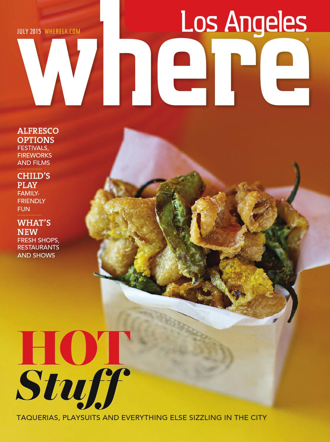 Where Los Angeles Magazine July 2015 By Socalmedia Issuu Lotteria Voucher Menu Crispy Chicken Rice Set