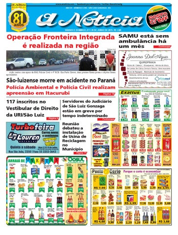 Edição de 27 e 28 de junho de 2015 by Jornal A Notícia - issuu ea54d56e5d8f8