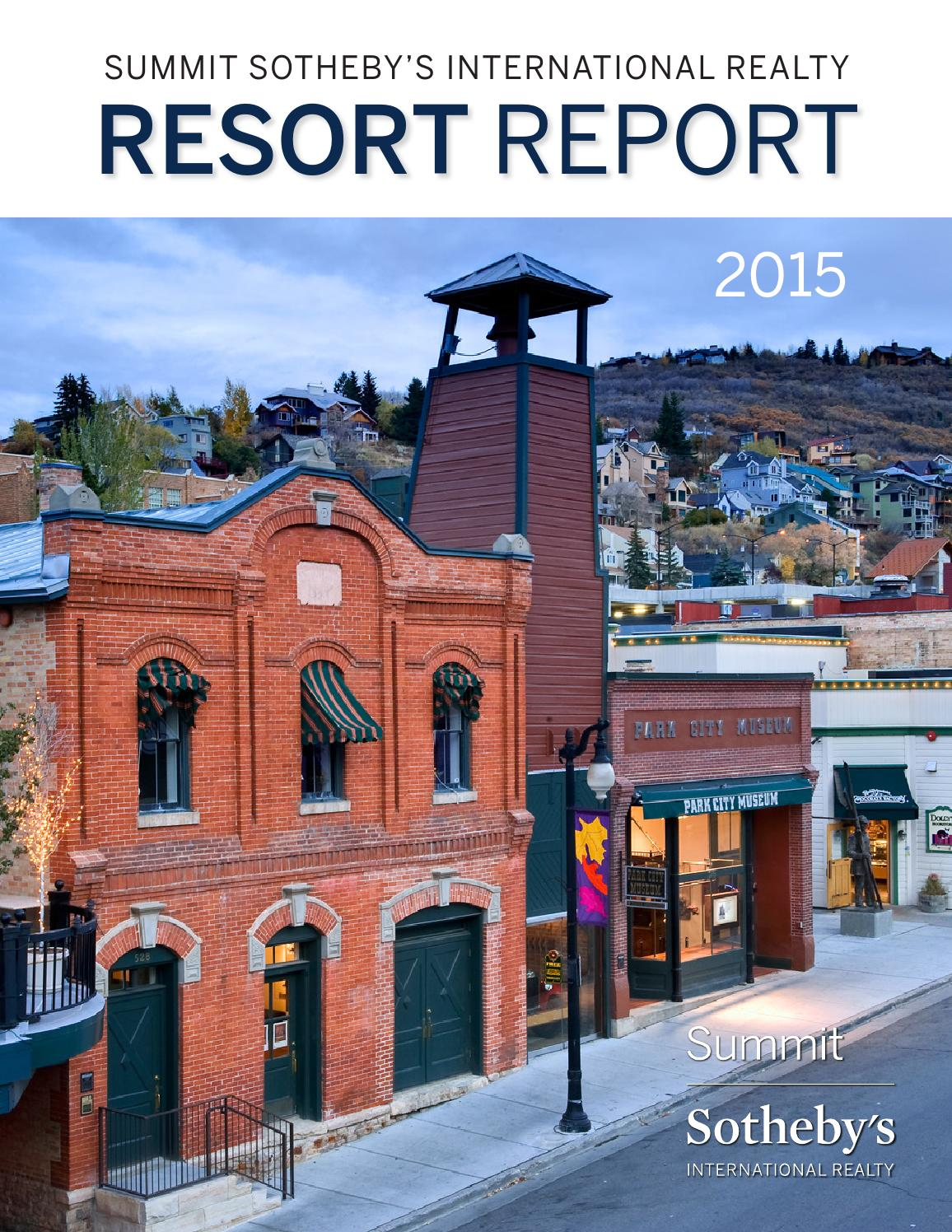 Summit SIR 2015 Resort Report by Summit Sotheby's ...