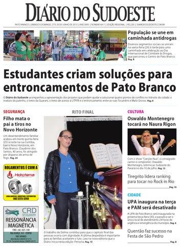 29c40957511c1 Diário do sudoeste 27 e 28 de maio de 2015 ed 6411 by Diário do ...
