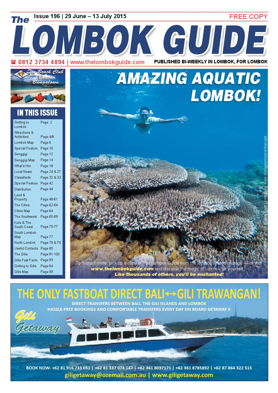 The Lombok Guide Issue 196 by The Lombok Guide - issuu