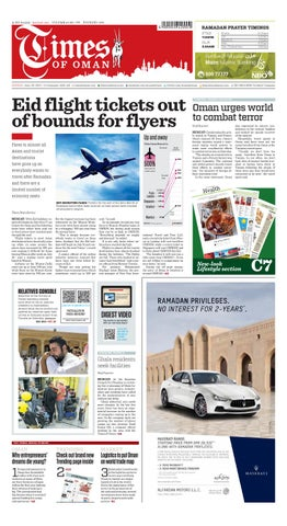 Times of Oman - June 21, 2015 by Times Oman - issuu