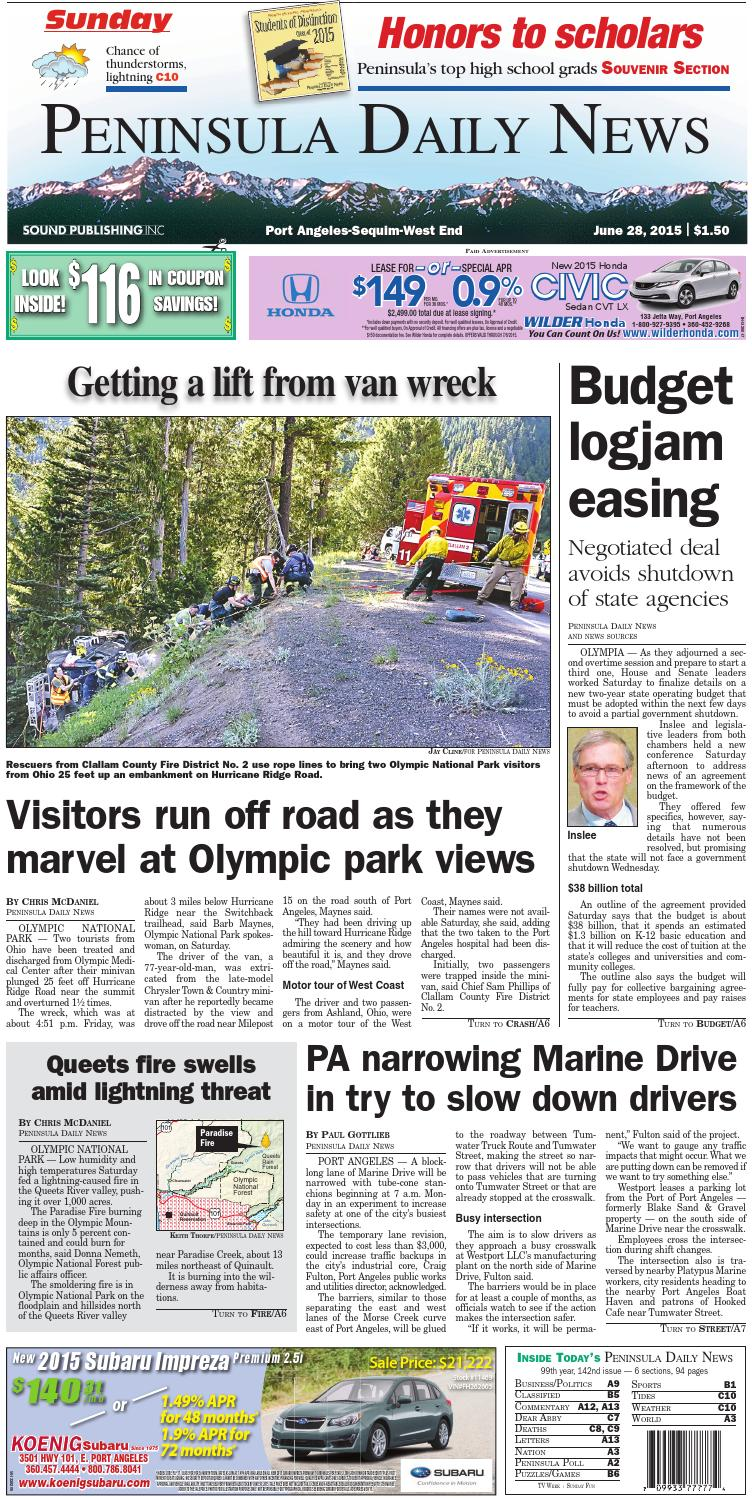 fbd7371b75f8a PDNN20150628C by Peninsula Daily News   Sequim Gazette - issuu