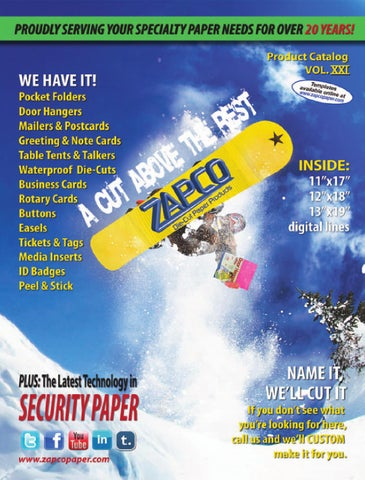 Zapco paper inc product catalog vol 21 by bastrop marketplace issuu page 1 reheart Gallery