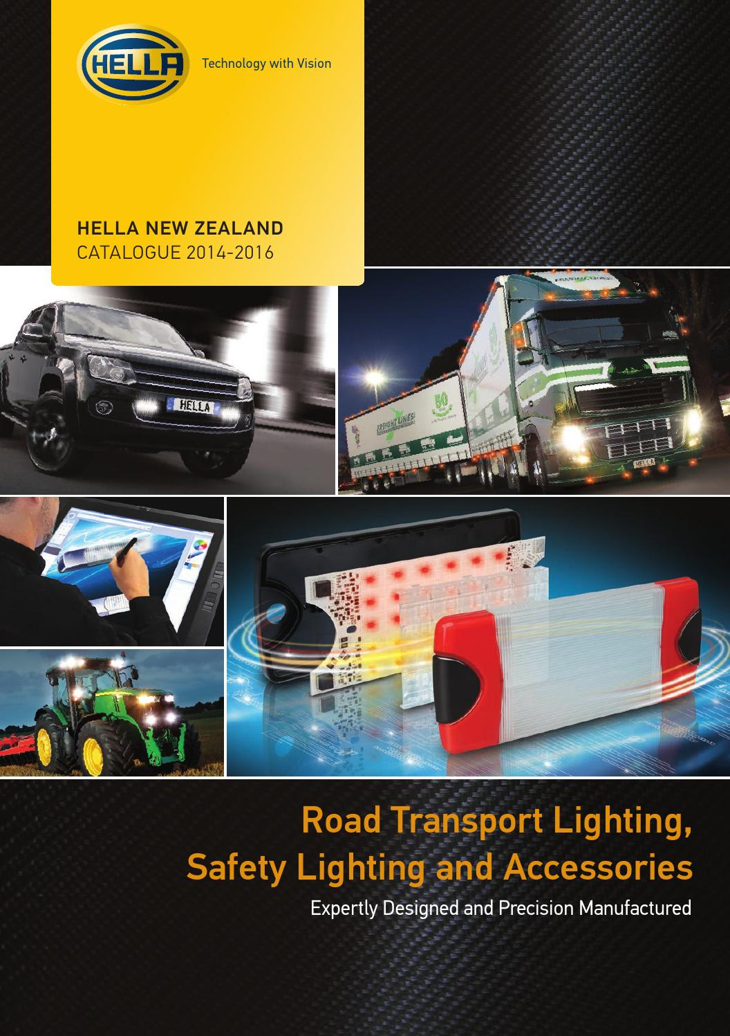 Hella New Zealand Catalogue 2014 2016 By Nz Issuu Use A Relay Or Smart Switch With The 45 Watt Higher Halogen Lights