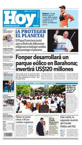 new arrival e4797 d8bb6 Periódico lunes 29 de junio de 2015 by Periodico Hoy - issuu