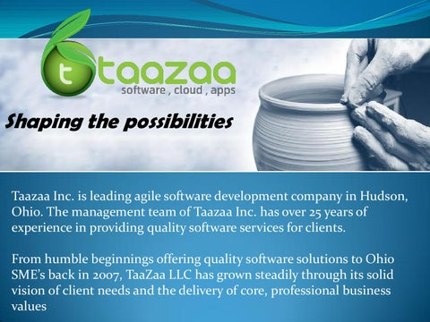 Taazaa: Software Development & Web Designing Company by
