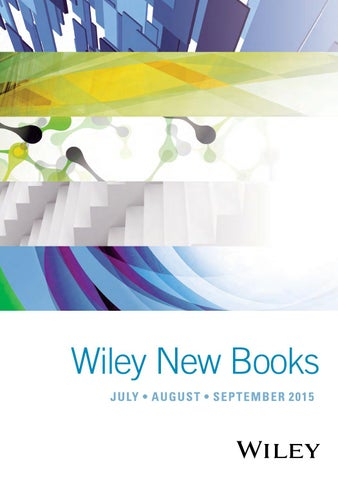 Wiley New Books Catalog Jul Sep 2015 By Wiley India Issuu