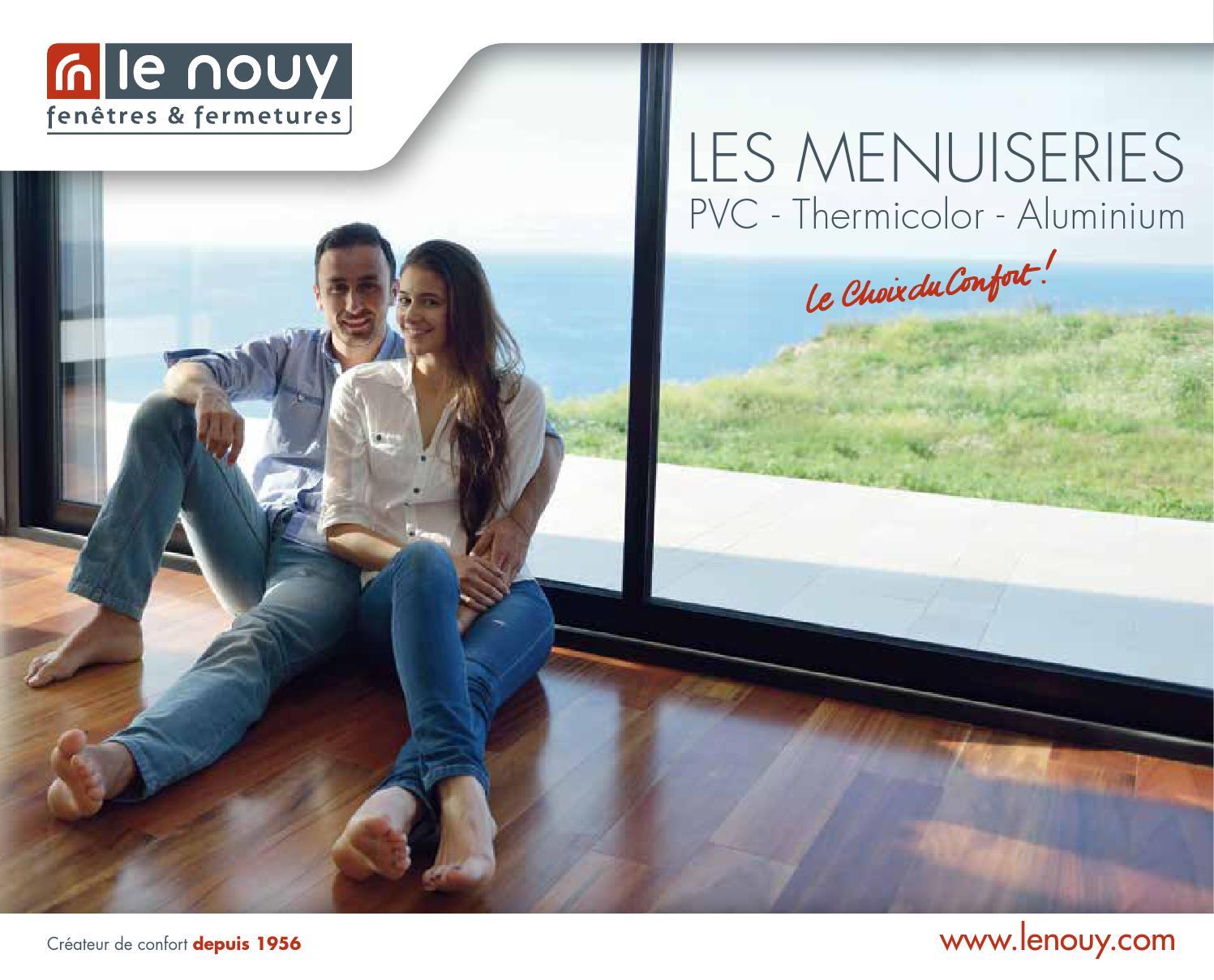 Nettoyer Volet Roulant Vitre Fixe catalogue menuiserie générallenouy - issuu