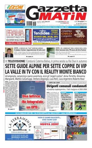 Gazzetta Matin del 29 giugno 2015 by NewsVDA - issuu dd2aaf449c7