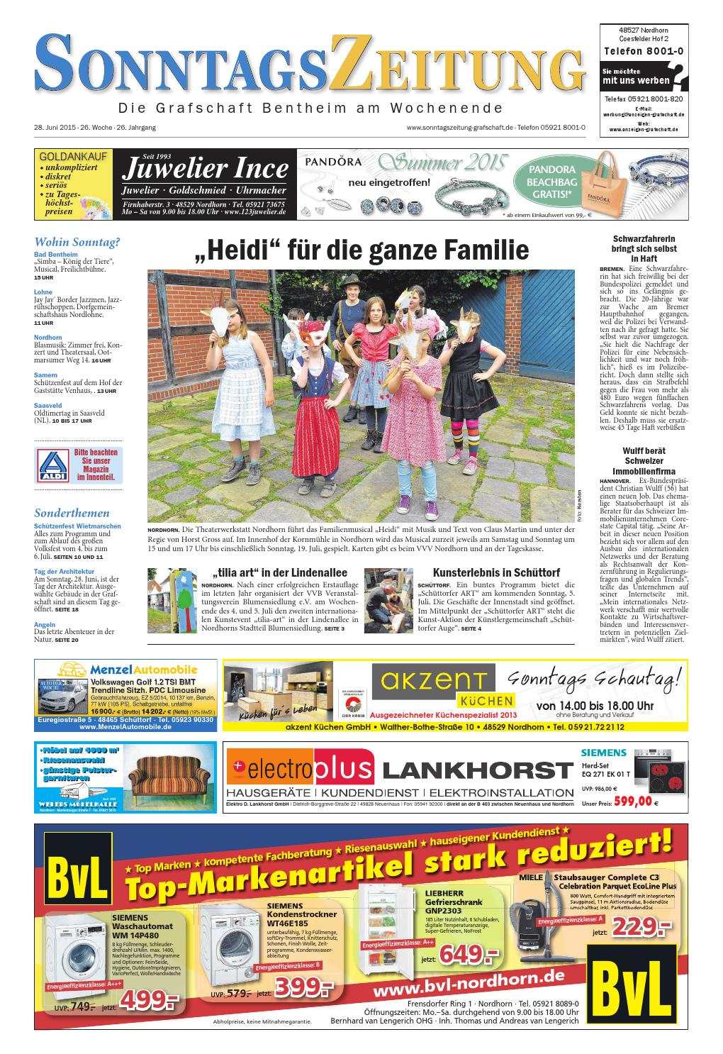 low priced 072fd 62da8 SonntagsZeitung28.06.2015 by SonntagsZeitung - issuu
