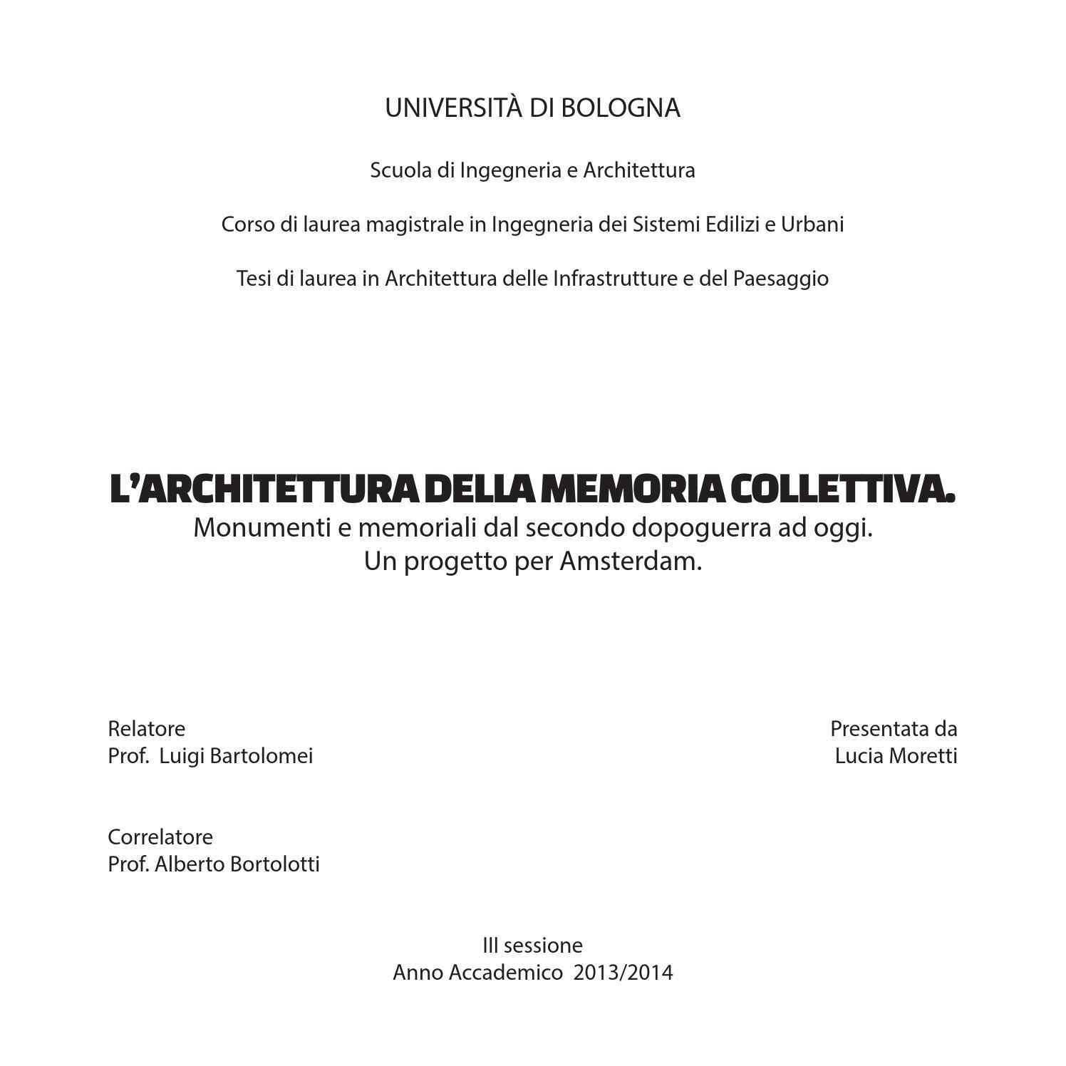 official photos febd2 21b9a L architettura della memoria collettiva by Lucia Moretti - issuu