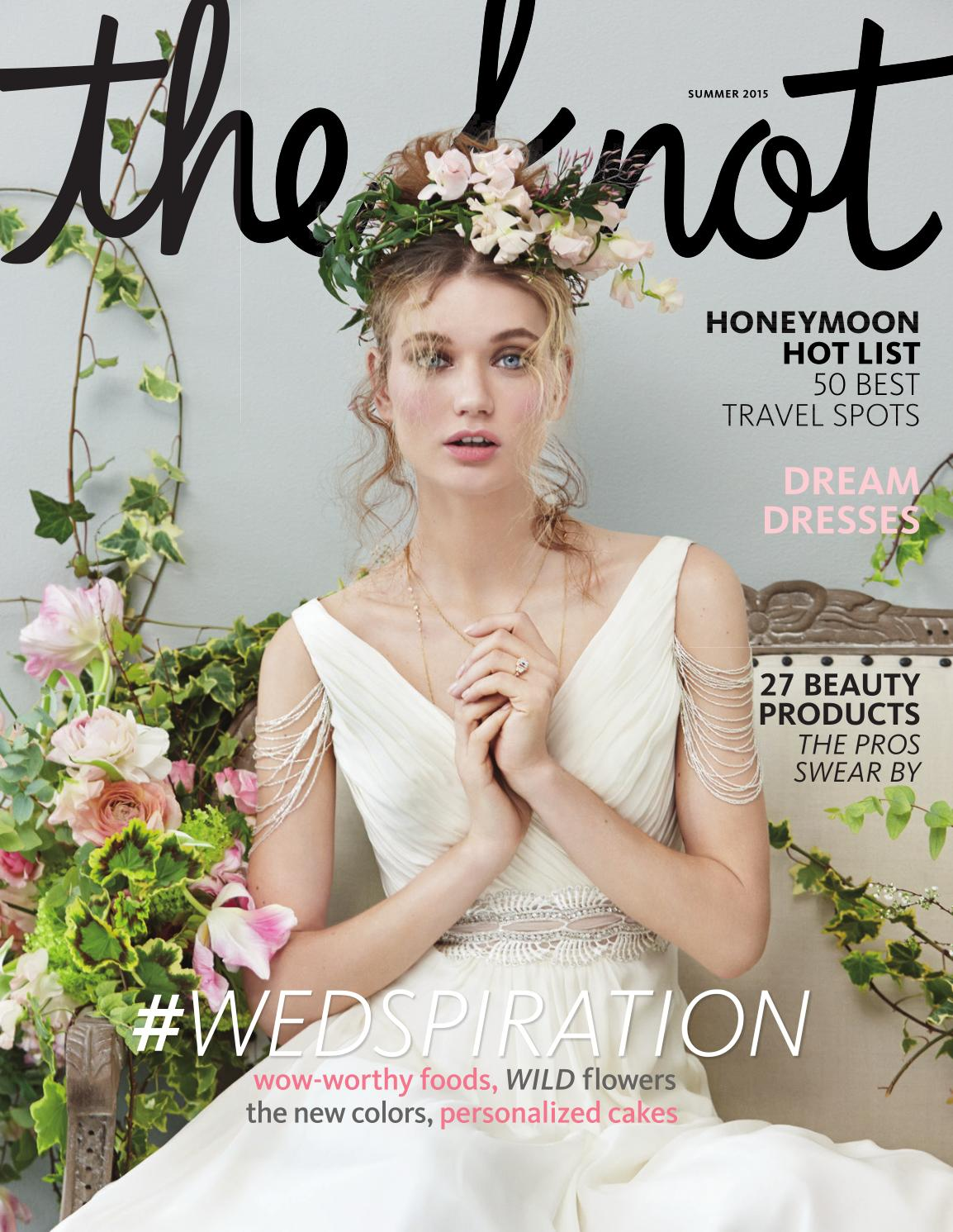 1ca9a22a2b15 The Knot Summer 2015 by The Knot - issuu