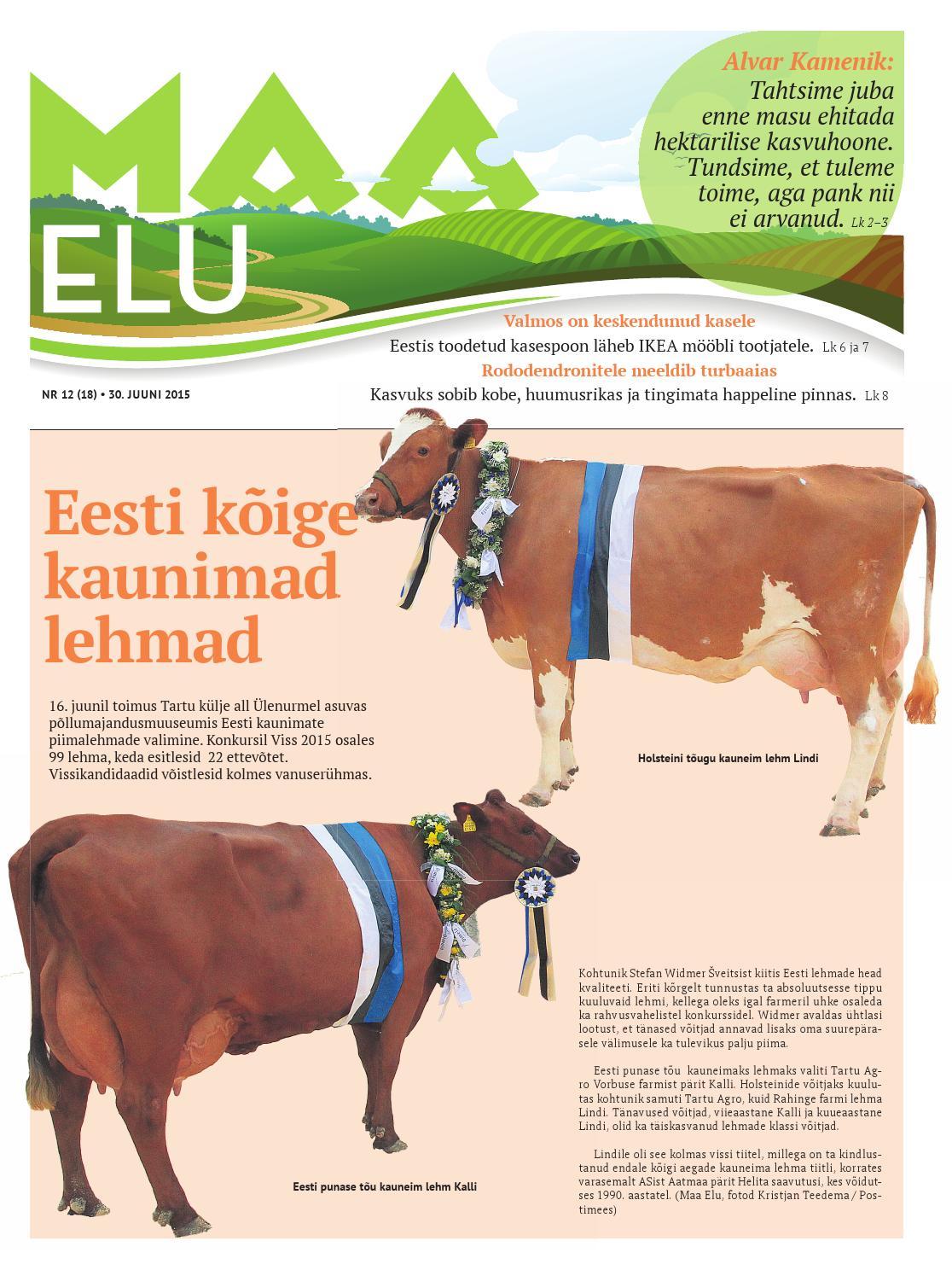 33f7ec5085c Maa Elu nr 12/2015 by AS Eesti Meedia - issuu