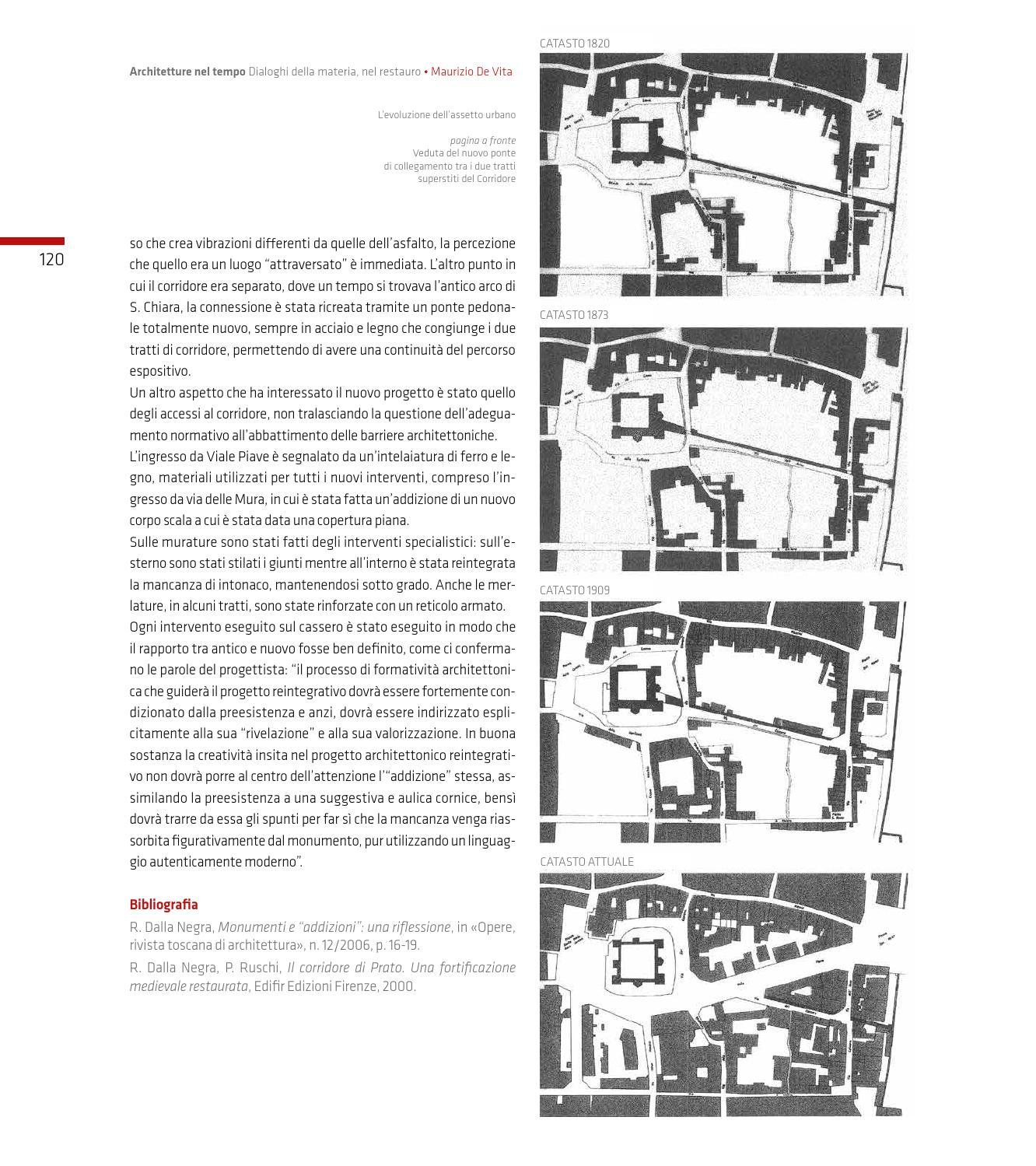 ARCHITETTURE NEL TEMPO Maurizio De vita by DIDA issuu