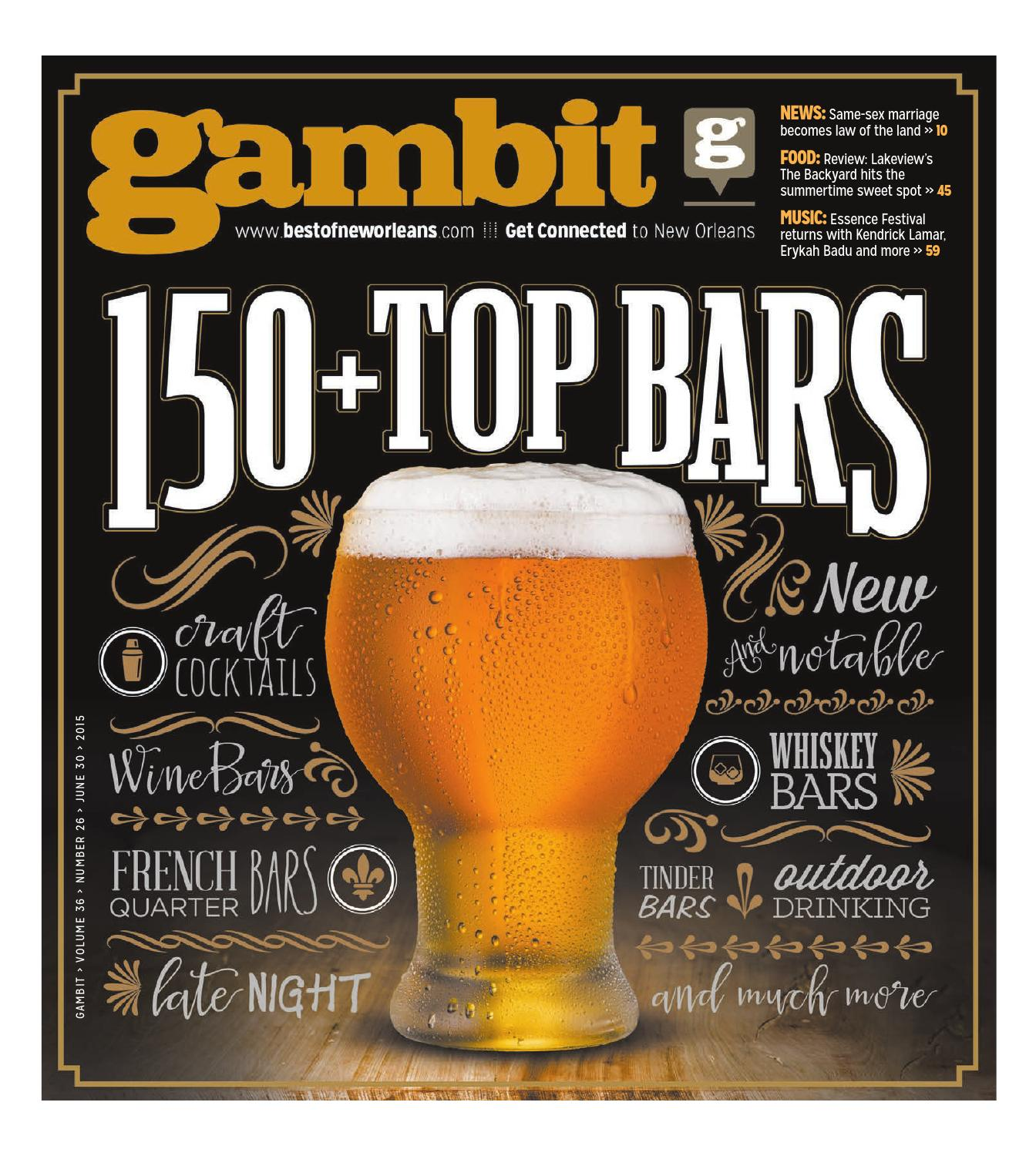 Gambit new orleans june 30 2015 by gambit new orleans issuu