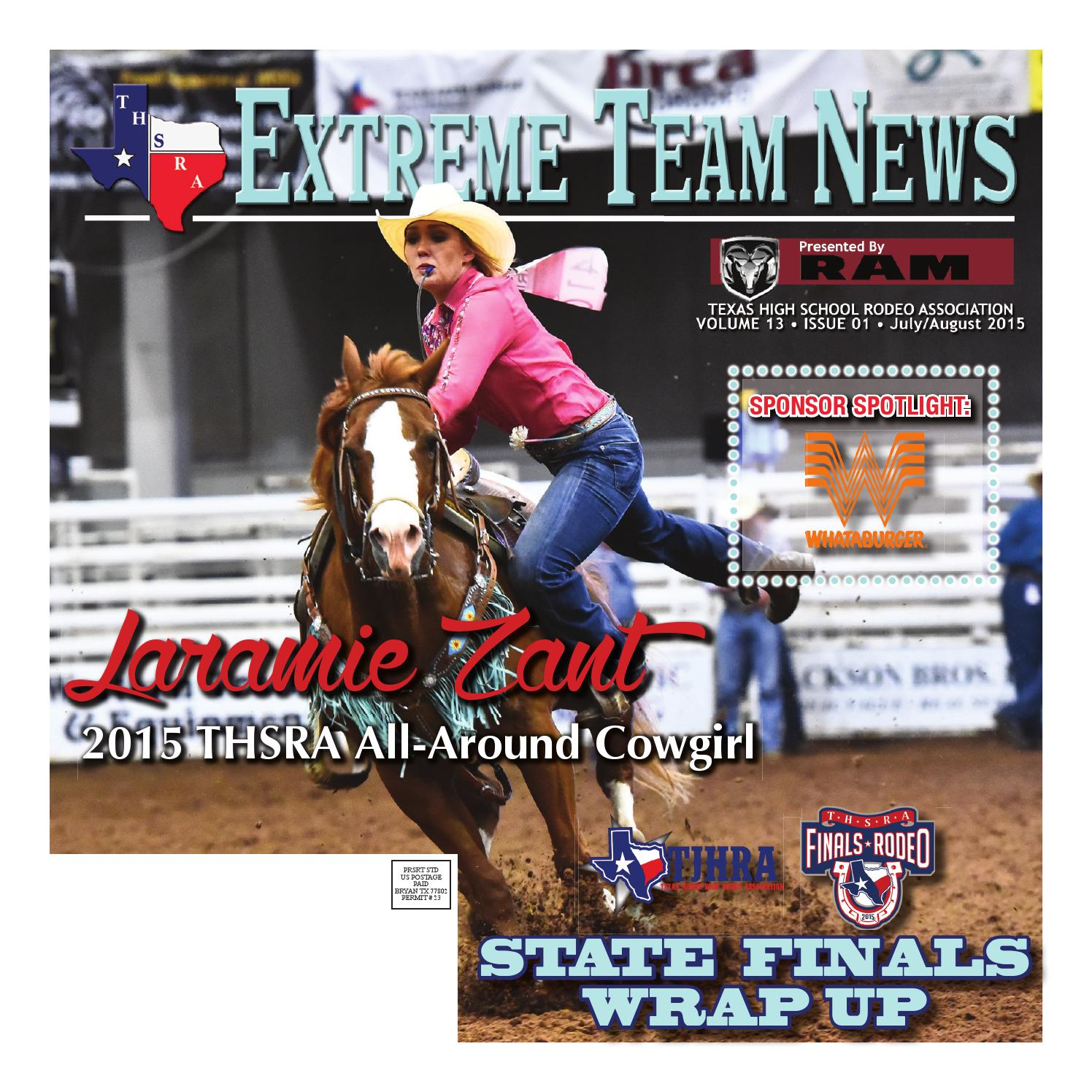 dae7b58780e July/August 2015 Extreme Team News, Official News of Texas High ...