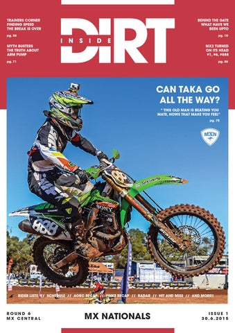 inside dirt issue 1 mx nationals by mx nationals issuu rh issuu com