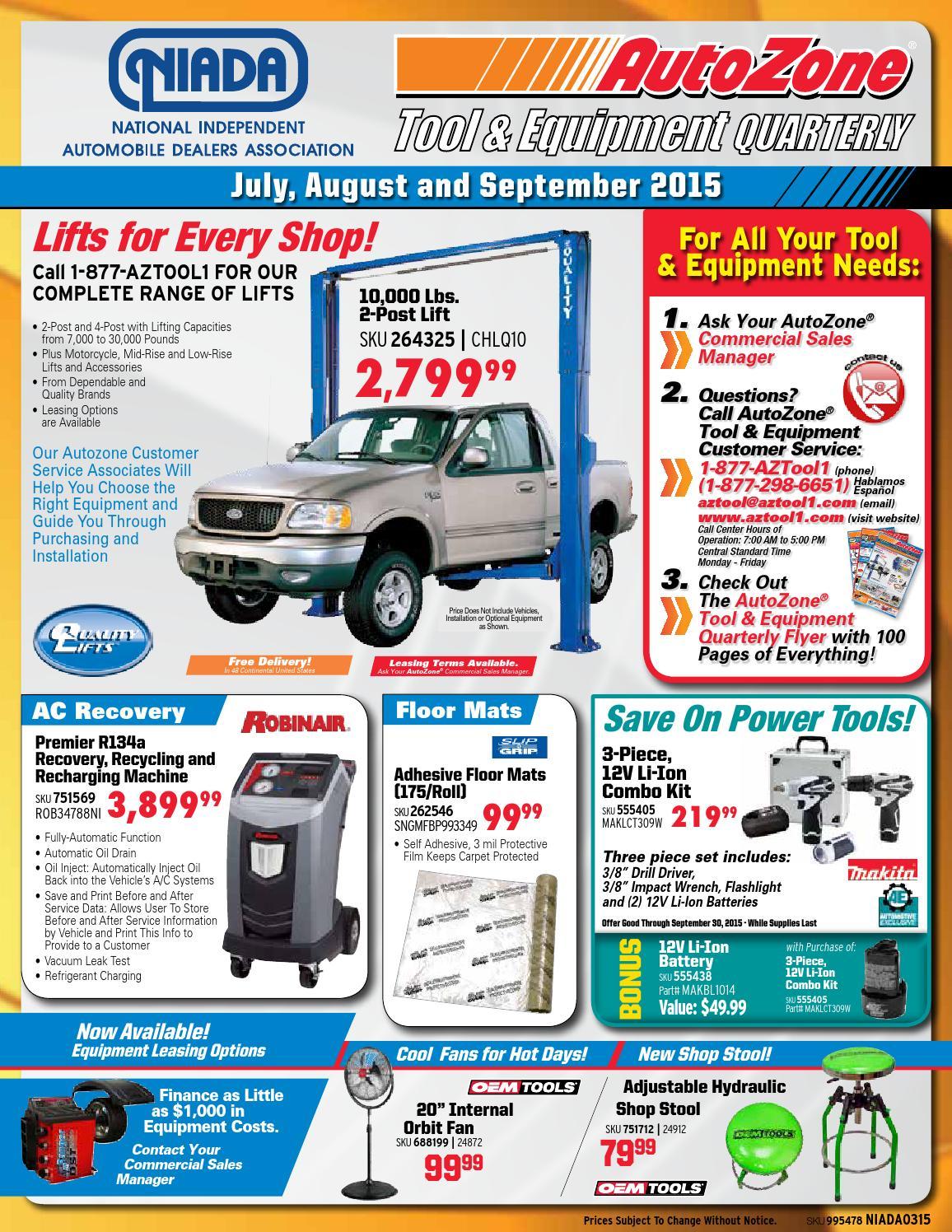 auto zone sales flyer mersn proforum co