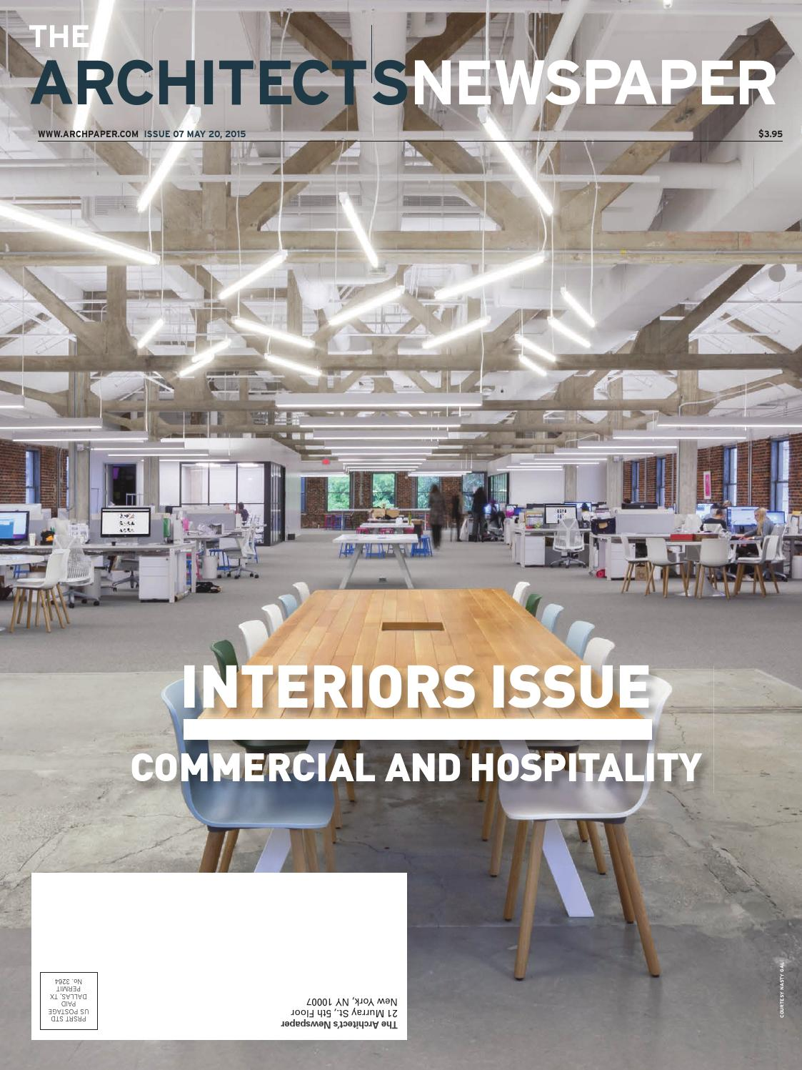 An 07 2015 by the architects newspaper issuu
