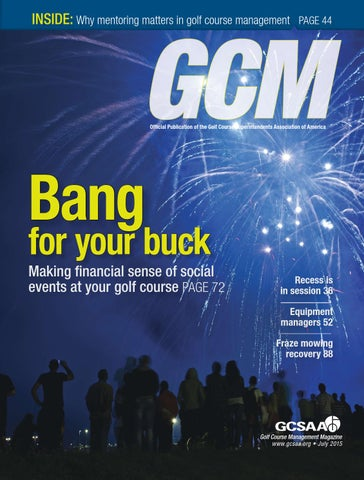 Golf Course Management - July 2015 by Golf Course Management - issuu