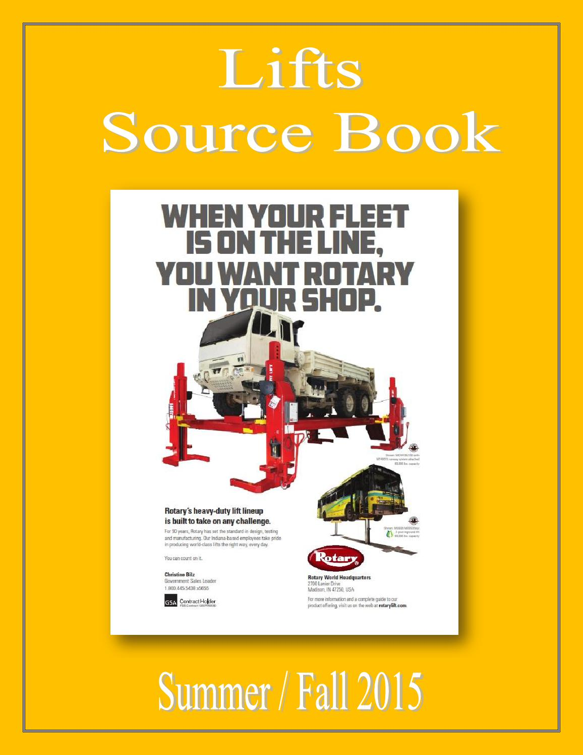 Lifts Source Book by Federal Buyers Guide, inc  - issuu