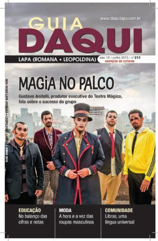 1a97f27130 Daqui Lapa - Ed. 213 - Junho - 2015 by Página Editora - issuu