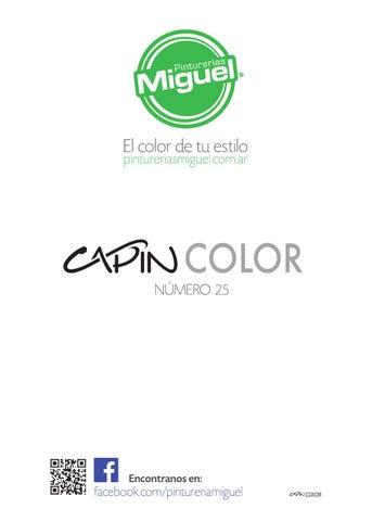 CAPIN N° 25 - Junio 2015 by Pinturerías Miguel - issuu