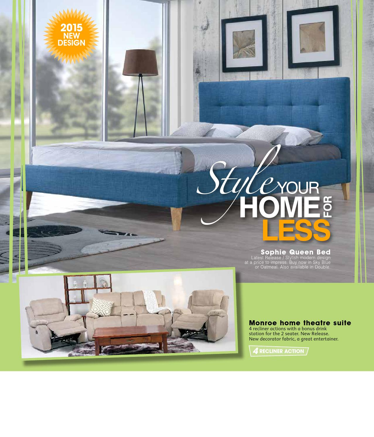 Betta Home Living Furniture Catalogue July 2015 By Echo Publications Issuu