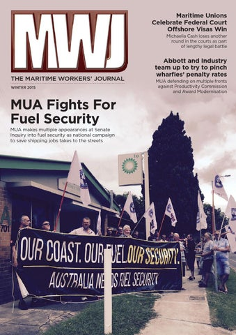 MWJ 2015 Winter Edition by MaritimeUnionAustralia - issuu