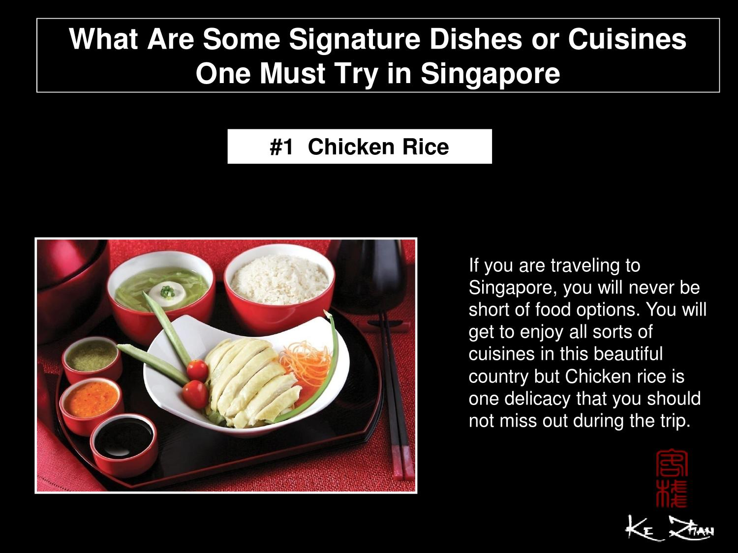 What Are Some Signature Dishes Or Cuisines One Must Try In
