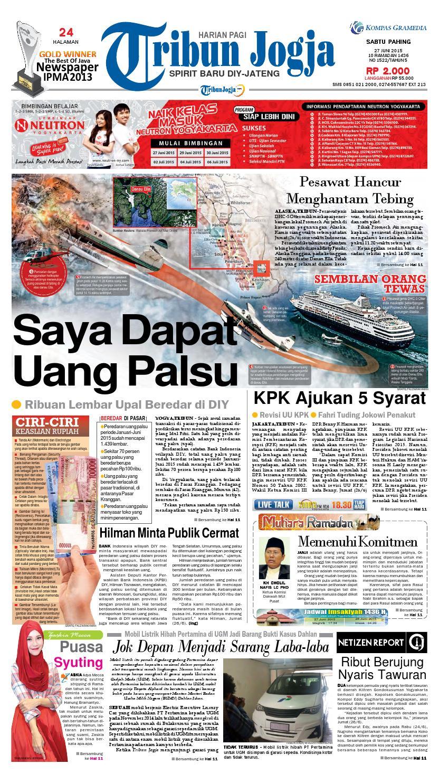 Tribunjogja 27 06 2015 By Tribun Jogja Issuu Zaskia Mecca Fae Tunik Tembaga