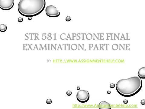 capstone task 2 part d Mgt2 task 2 part c 2694 words capstone task 2 part d 7883 words | 32 pages capstone task 2, part d tamara bickston rekeesha duncan christopher lyles 1.