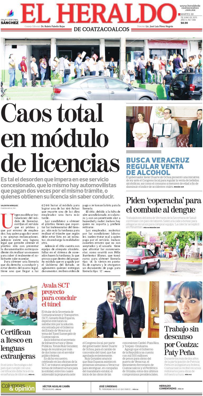 El Heraldo De Coatzacoalcos 30 De Junio De 2015 By El