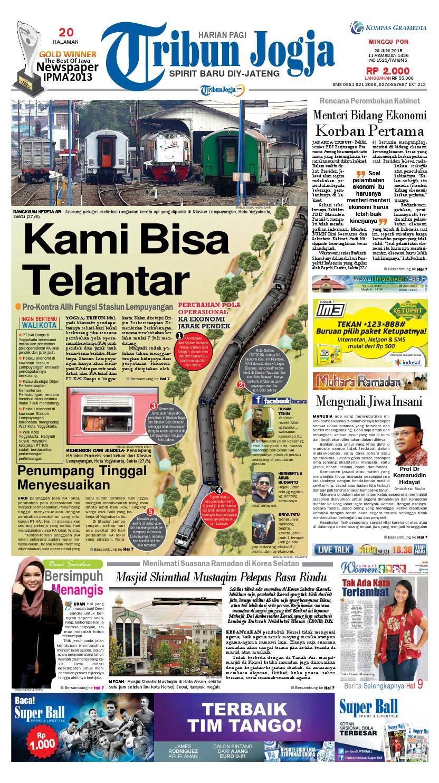 Tribunjogja 28 06 2015 By Tribun Jogja Issuu Charger Warna Warni Merk Hasan Sj0048