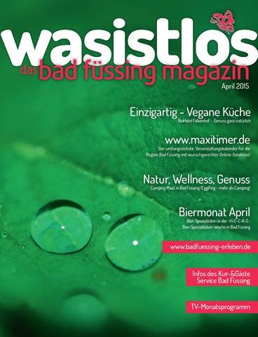 Wasistlos Bad Füssing Magazin April 15 By Remark Marketing Medien