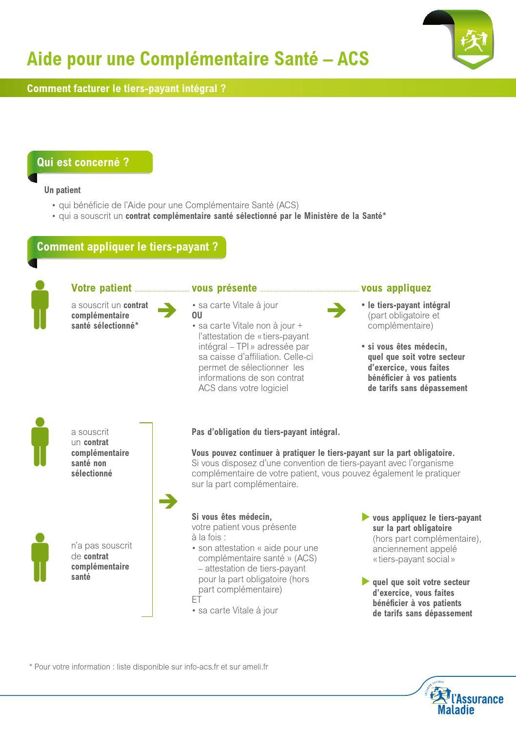 Aide pour la compl mentaire sant acs by reagjir issuu - Plafond aide a la complementaire sante ...