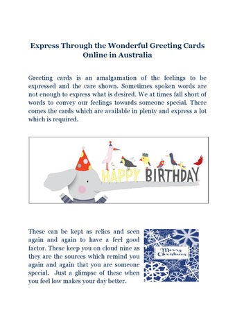 Express through the wonderful greeting cards online in australia by express through the wonderful greeting cards online in australia greeting cards is an amalgamation of the feelings to be expressed and the care shown m4hsunfo