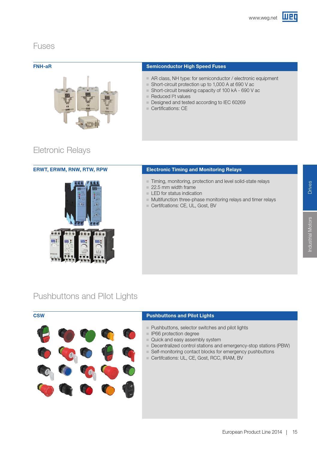WEG Drives and Motors Brochure | ERIKS by ERIKS Nederland