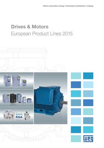 WEG Drives and Motors Brochure | ERIKS by ERIKS Nederland ... on