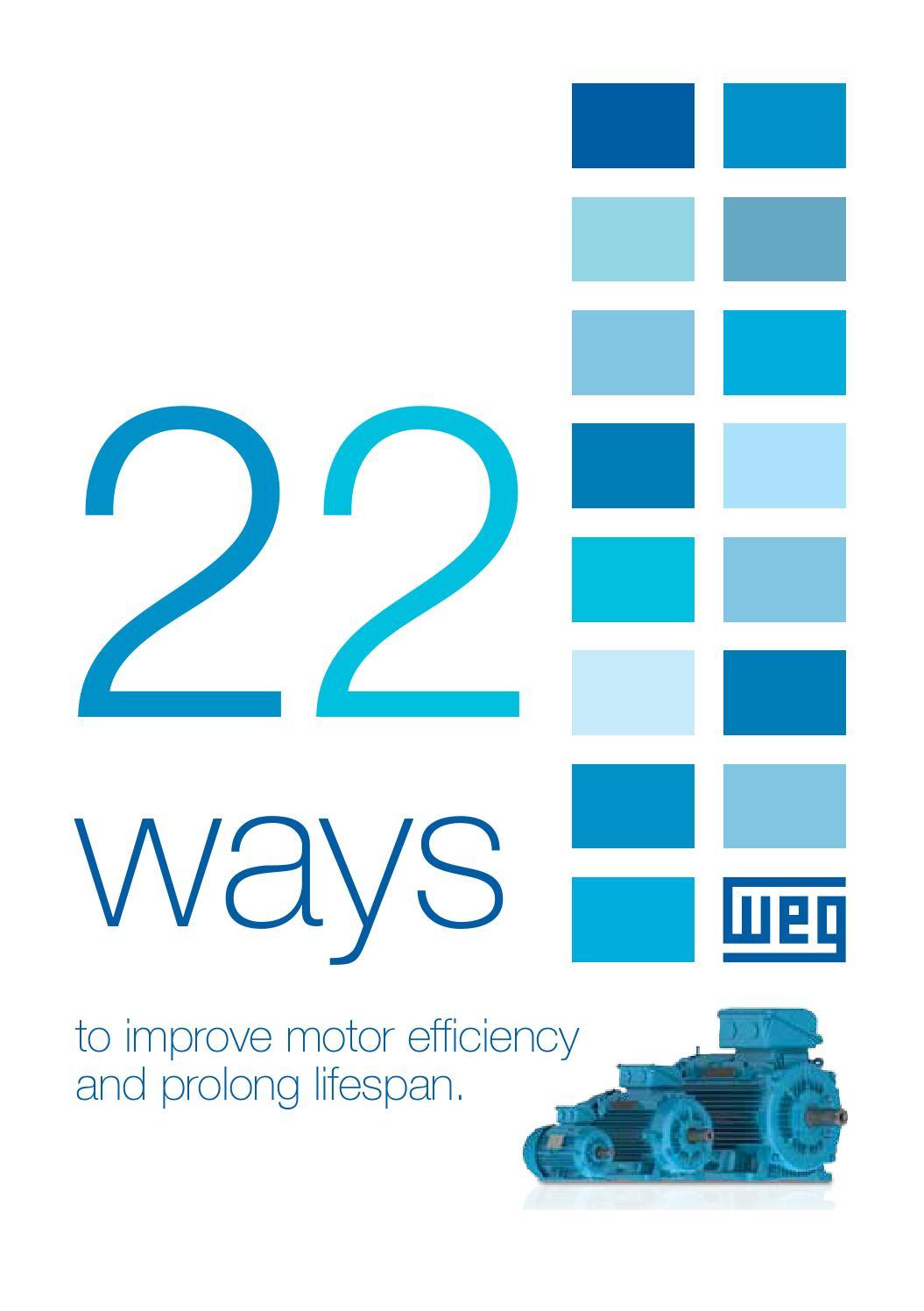 WEG W22 Three Phase Motor - 22 Ways Brochure | ERIKS by ERIKS ...